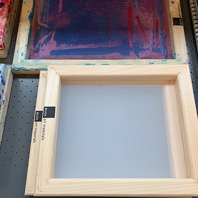 image of small silk screens