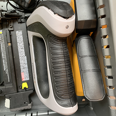 image of heavy duty stapler in drawer